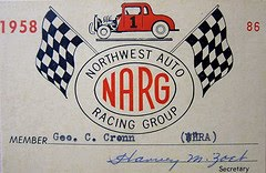 Northwest Auto Racing, 1950s