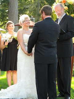 Ania & Chad wed at Alderbrook Resort - Kent Buttars, Seattle Wedding Officiant