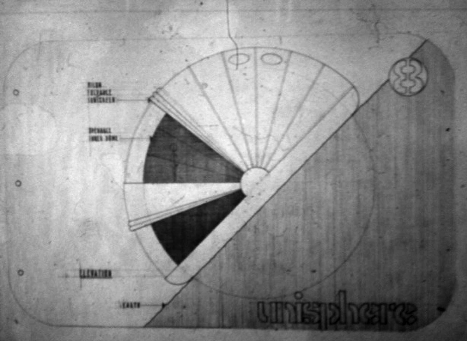 Eugene ray architect aerodyne double dome 1986 universal spheroid