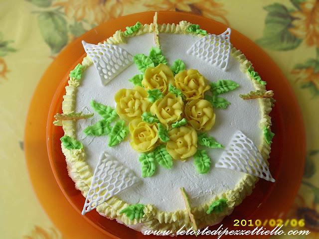 (SAP) Torta rose in crema di burro