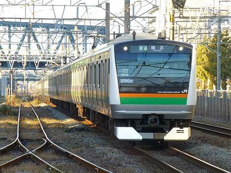 普通 横浜行き E233系