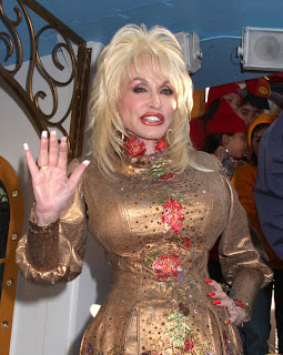 Dolly Parton's hands!