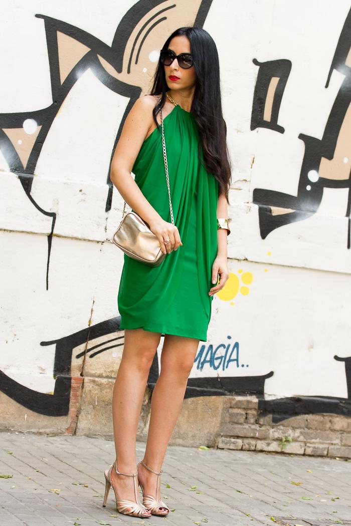 Estilismo para celebraciones de la Blogger valenciana moda withorwithoutshoes