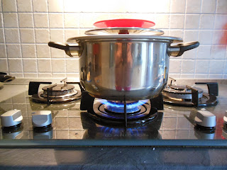 pasta - pasticcio di verdure con maccheroni magic cooker