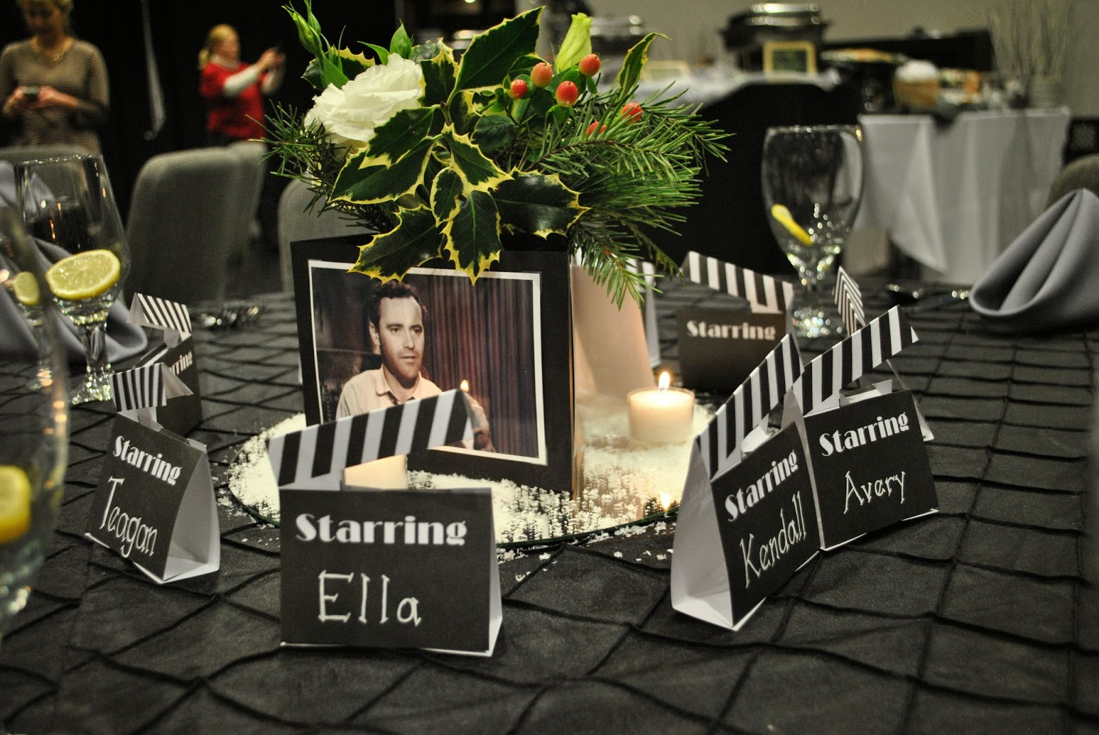 marriage motherhood and ministry a hollywood themed christmas party