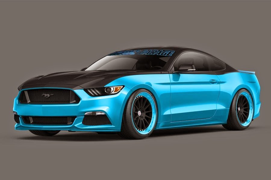 Ford Mustang (Petty's Garage) (2015 Rendering) Front Side