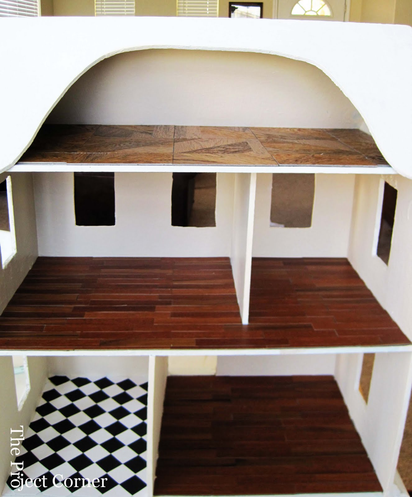 The Project Corner: Doll House Remodel-Part 3