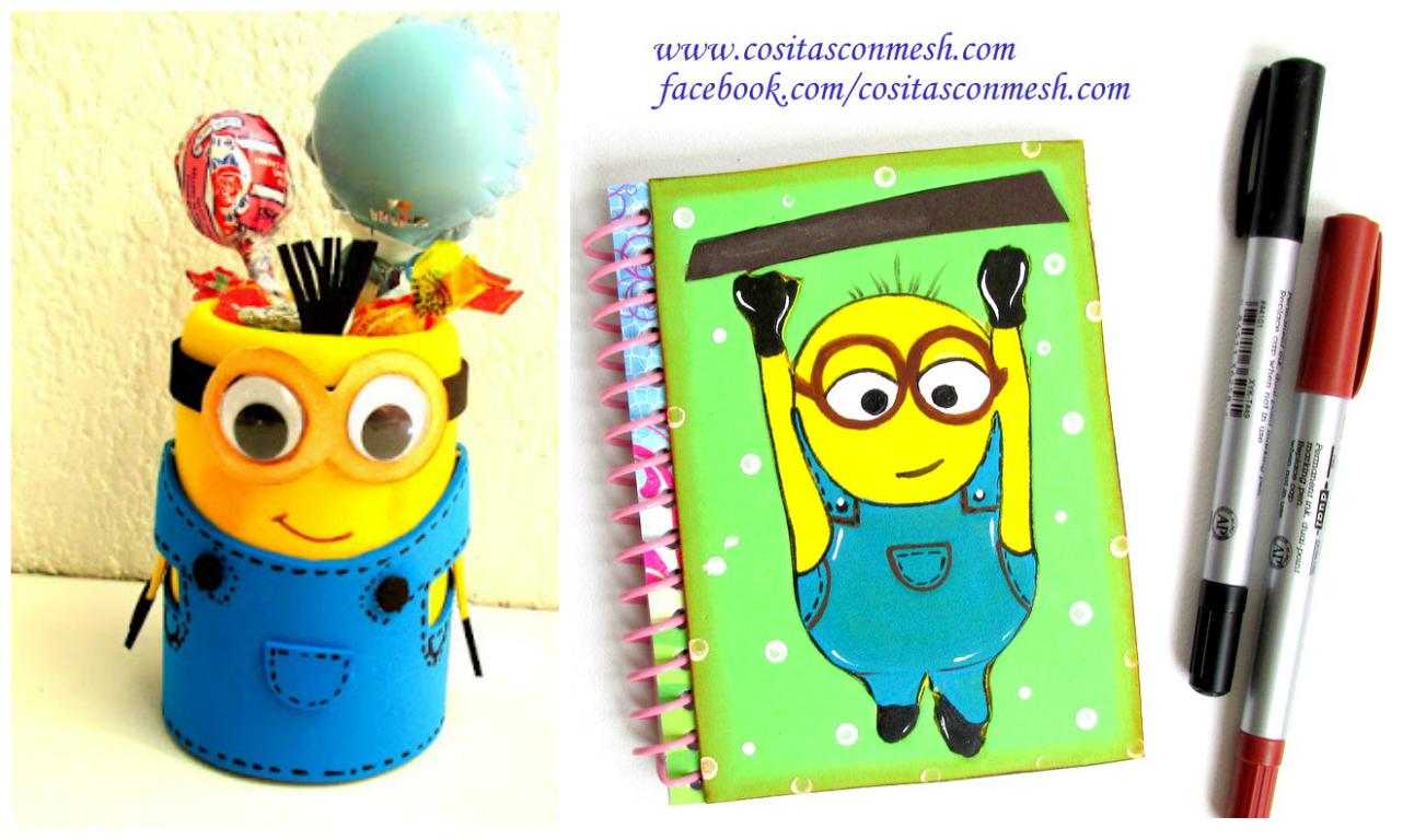 Como decorar los cuadernos de ninos - Como decorar cuadernos ...