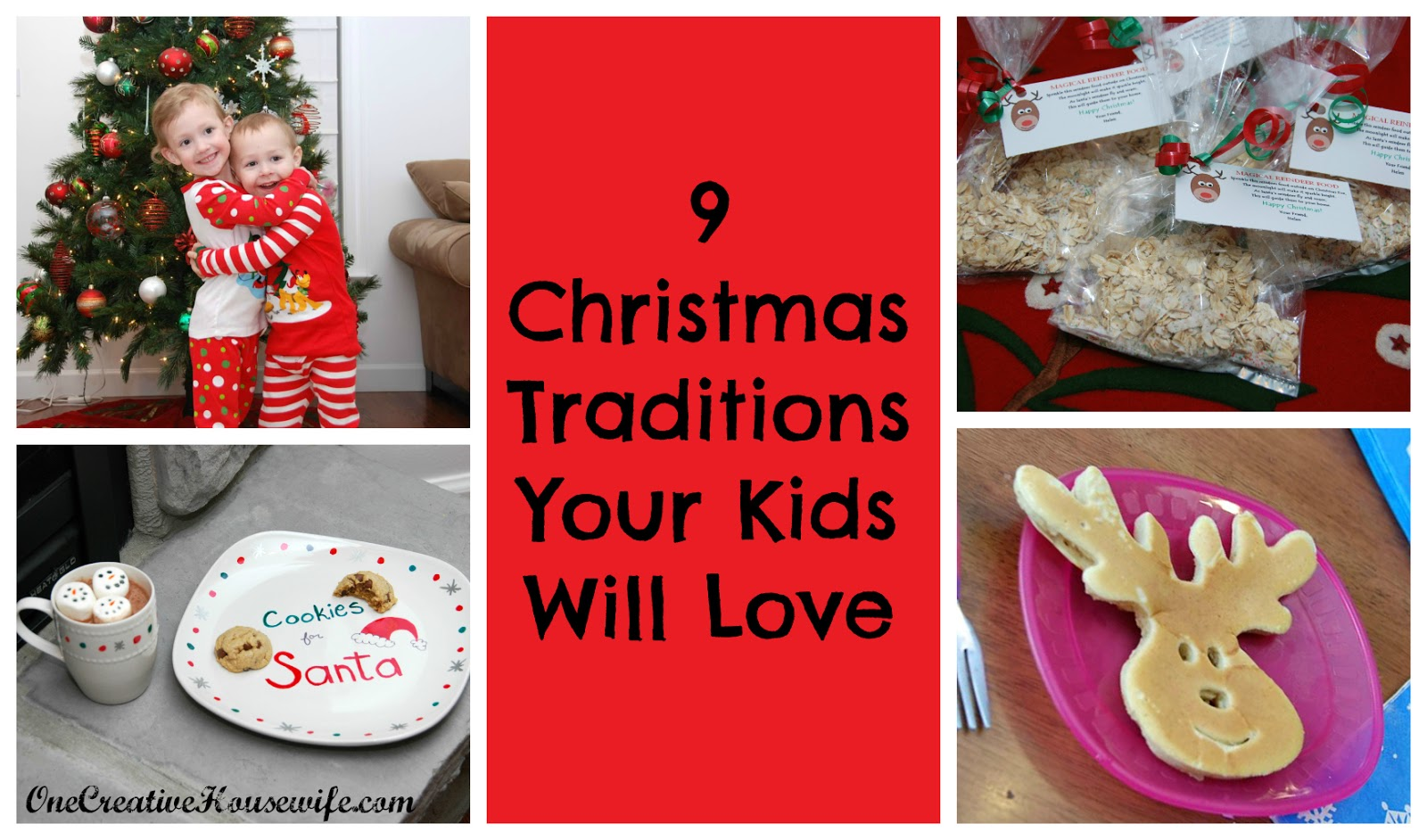 9 christmas traditions your kids will love