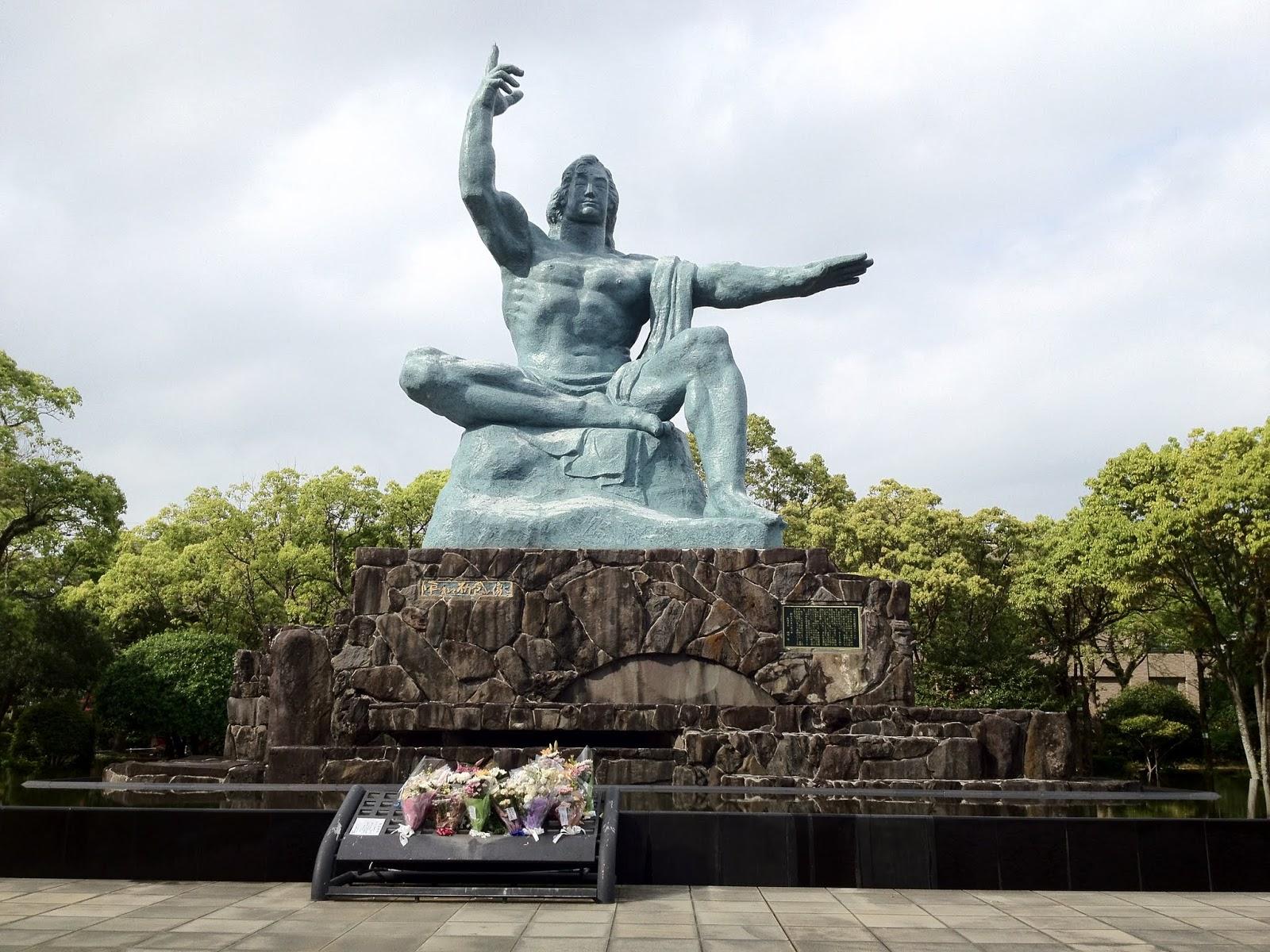 Chaos and Kanji: Location: Nagasaki Peace Park and Museum