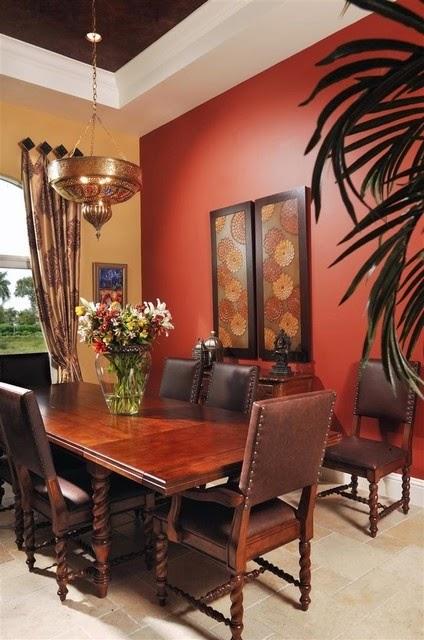 تصميمات رائعه لغرف المعيشه المغربيه  Exquisite-moroccan-dining-room-designs-3