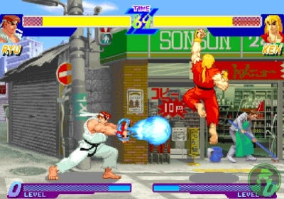 Street Fighter Game