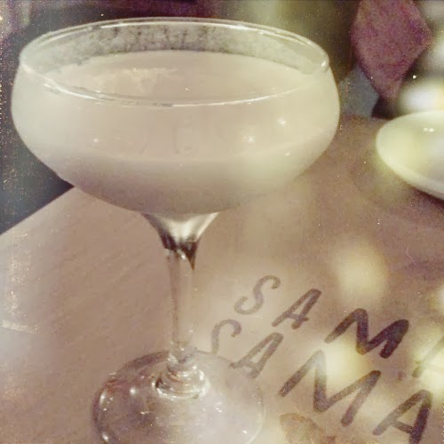 cocktail at sama sama / catherine masi instagram