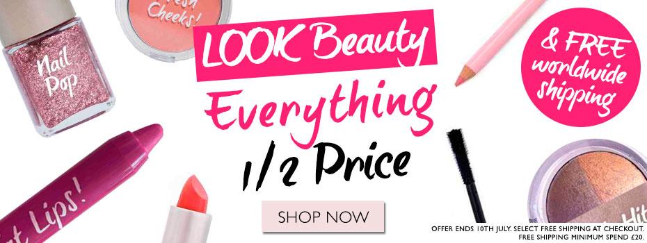 LOOK Beauty - Sconto 50% su tutto e spedizione gratis