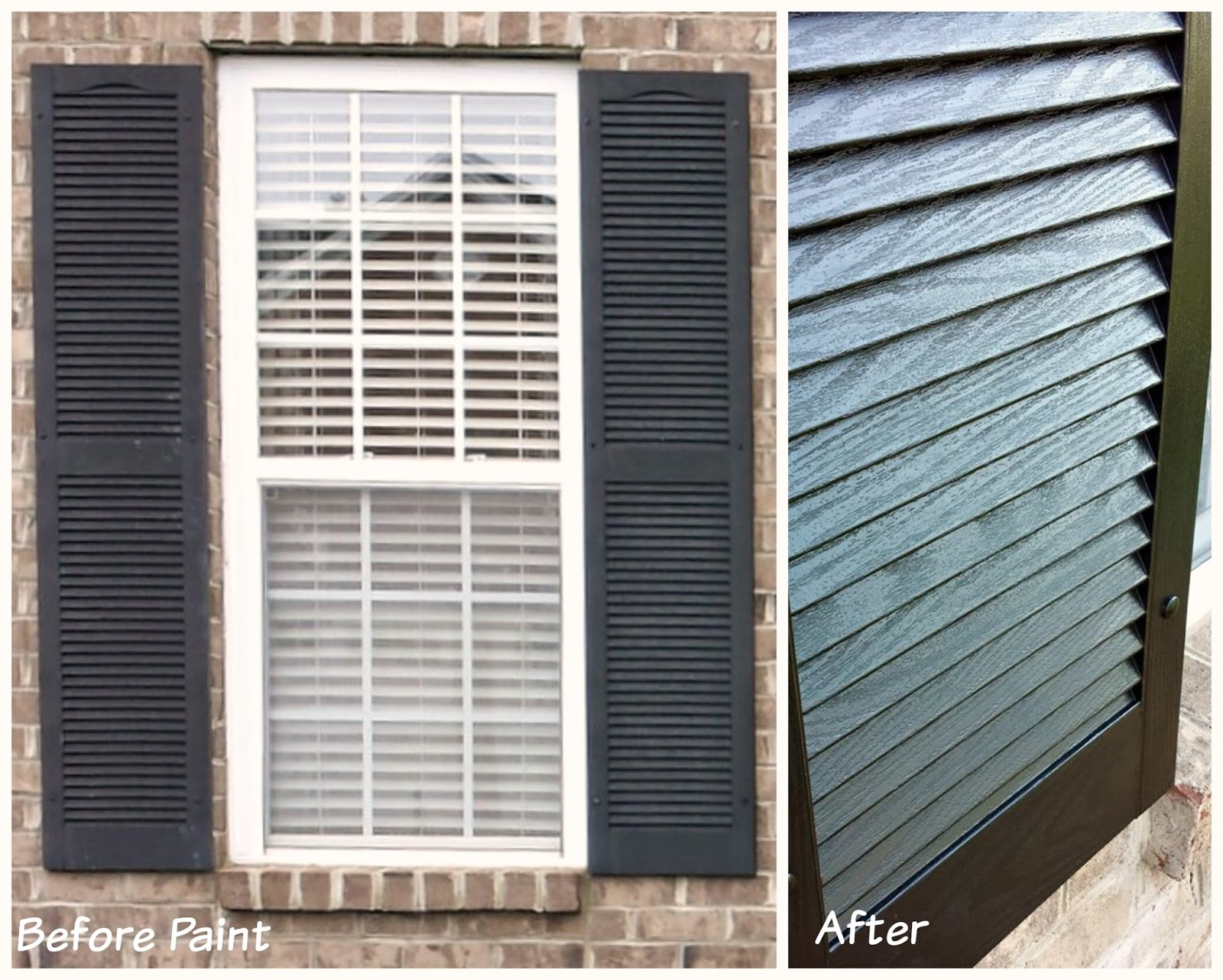 Best Way To Paint House Shutters Biddle Bits How To Paint Vinyl Shutters Shutter Types Fresh