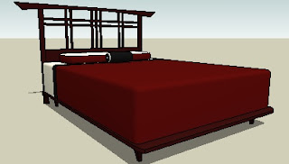 Trimble 3D Warehouse - Bed Frame with Styling
