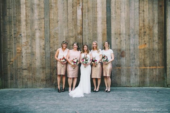 Stern Grove wedding party photos