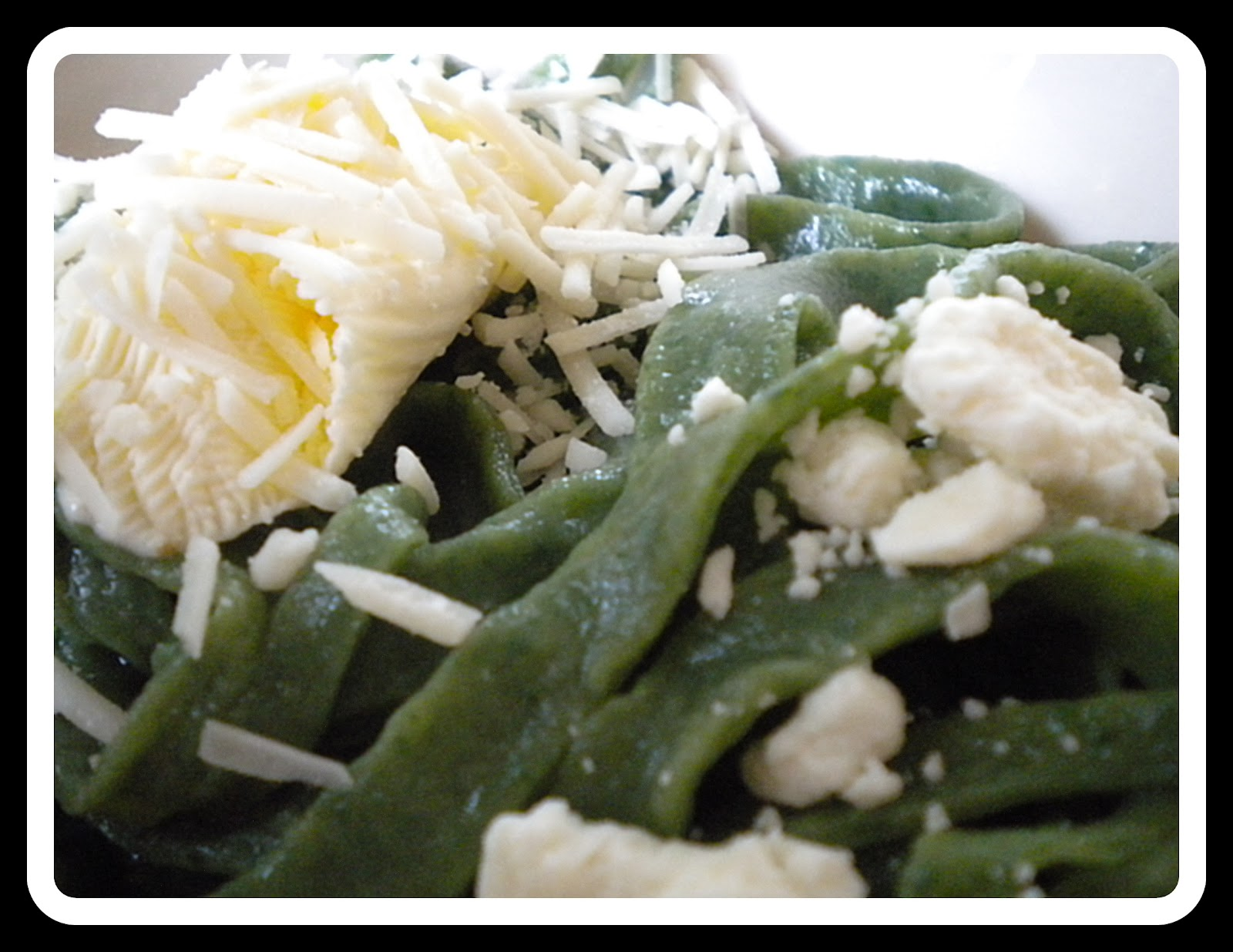 Mossy Trees: Handmade Fresh Stinging Nettle Pasta