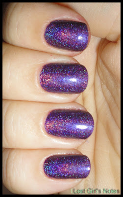 color club wild at heart holographic nail polish