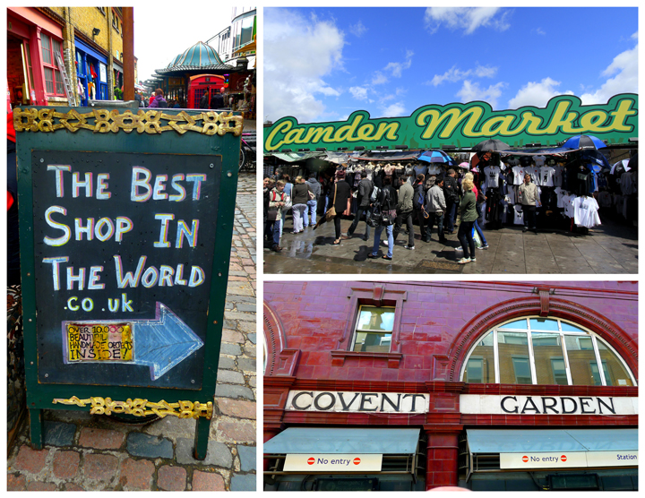 London Markets: Camden Market and Covent Garden