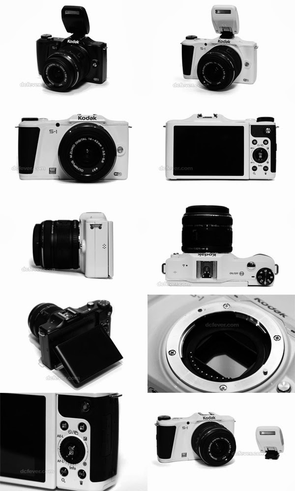 Wi-Fi, APP system, Kodak S1, MFT camera, mirrorless camera, full HD video, new mirrorless camera
