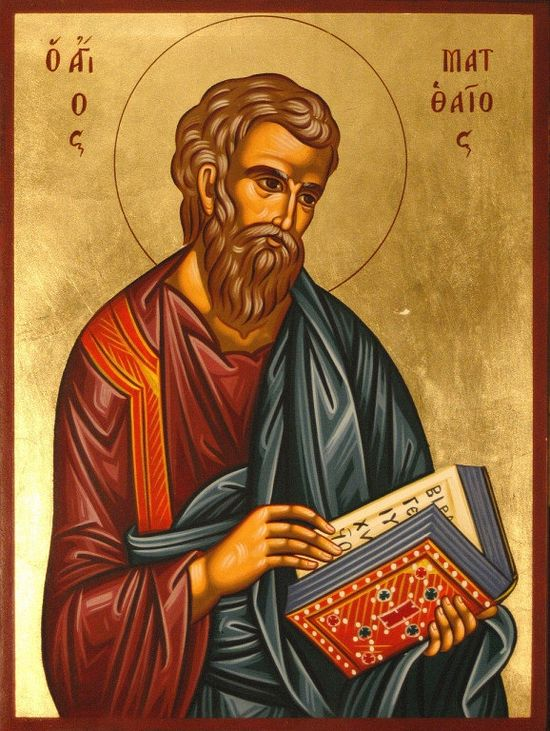 Holy Apostle Matthew