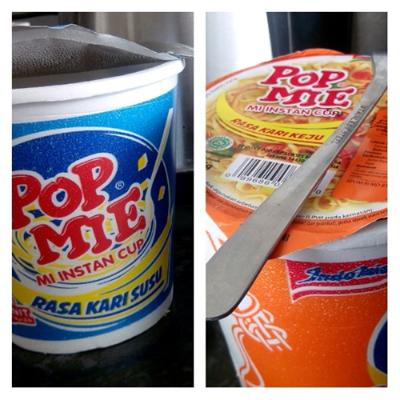 pop mie kari keju
