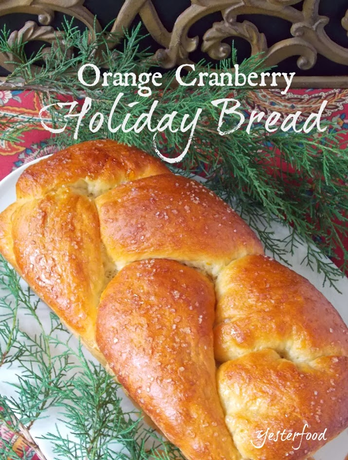 Yesterfood : Orange Cranberry Holiday Bread