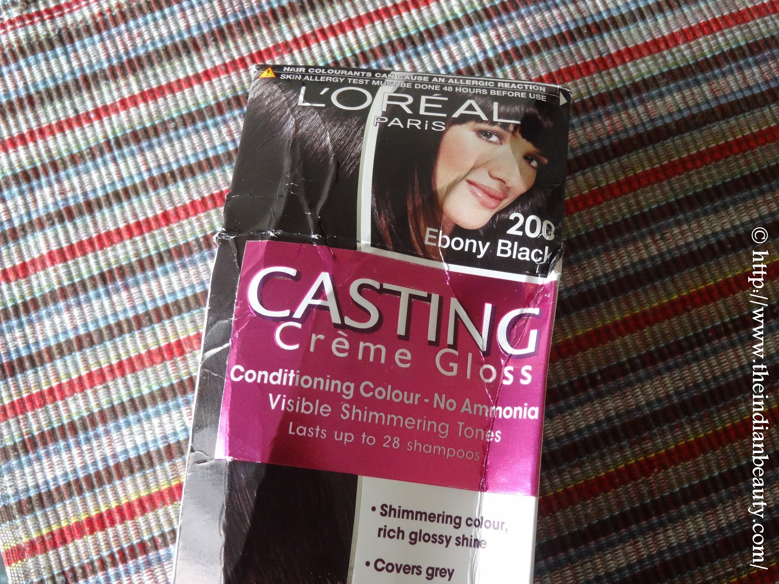 Loreal Paris Casting Creme Gloss 200 Ebony Black Review The