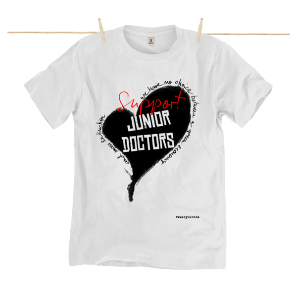 Support The Junior Doctors Strike (click on the T-Shirt below)