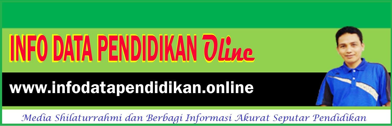 Info Data Pendidikan Online