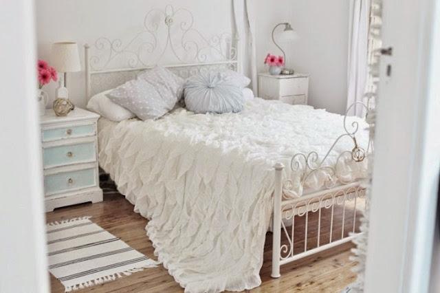 Shabby chic bedroom paint colors idee di design nella vostra casa