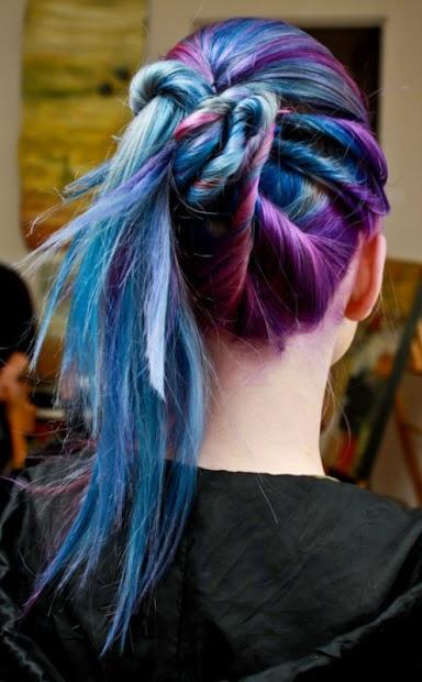 beauty galaxy hair