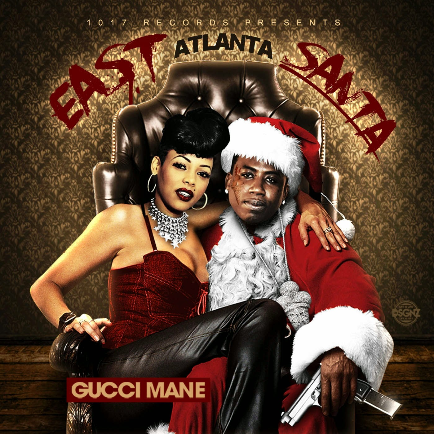 Gucci Mane - East Atlanta Santa Cover