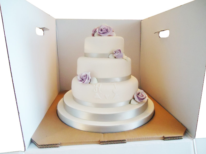 Transport Tiered Cake Boxes