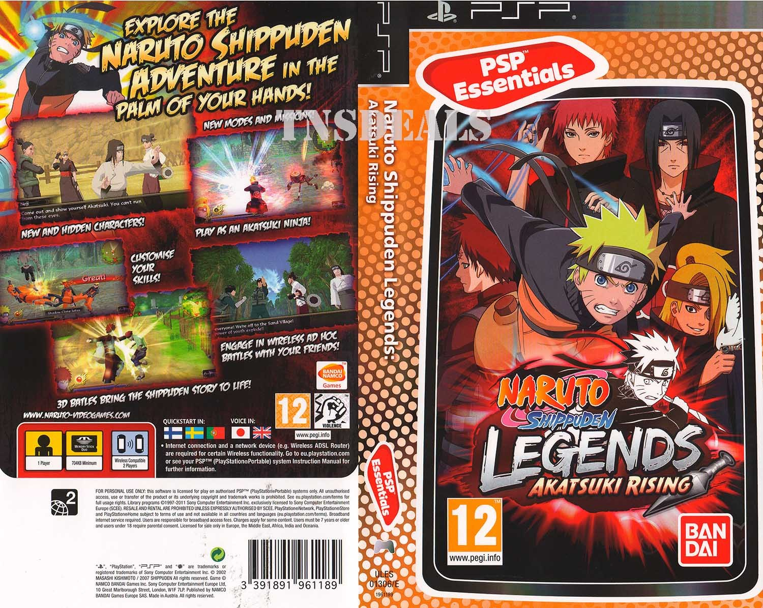 TOP 4 Naruto Games for PSP 1080 HD  YouTube
