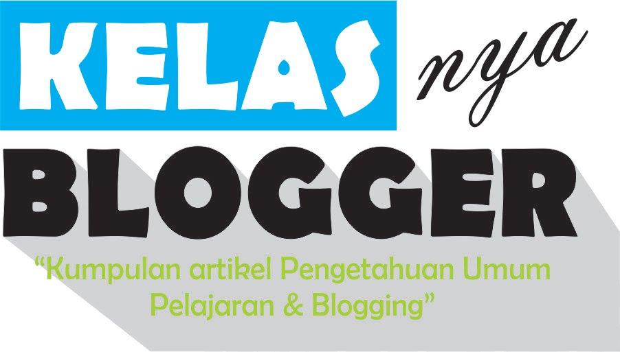 Kelasnya Blogger