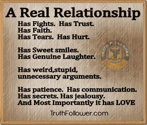 i want a real relationship