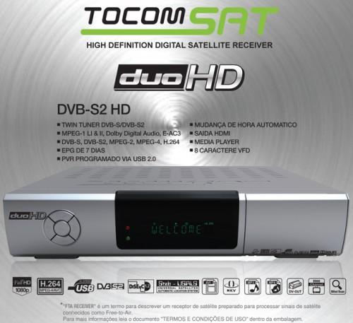 ATUALIZAÇÃO TOCOMSAT DUO HD v01_005USB 21/10/12