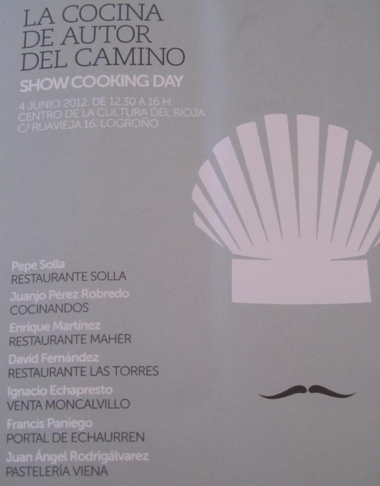 Urbina vinos blog la cocina de autor del camino show - La cocina del 9 ...