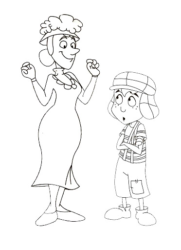 chavo coloring pages - photo#20