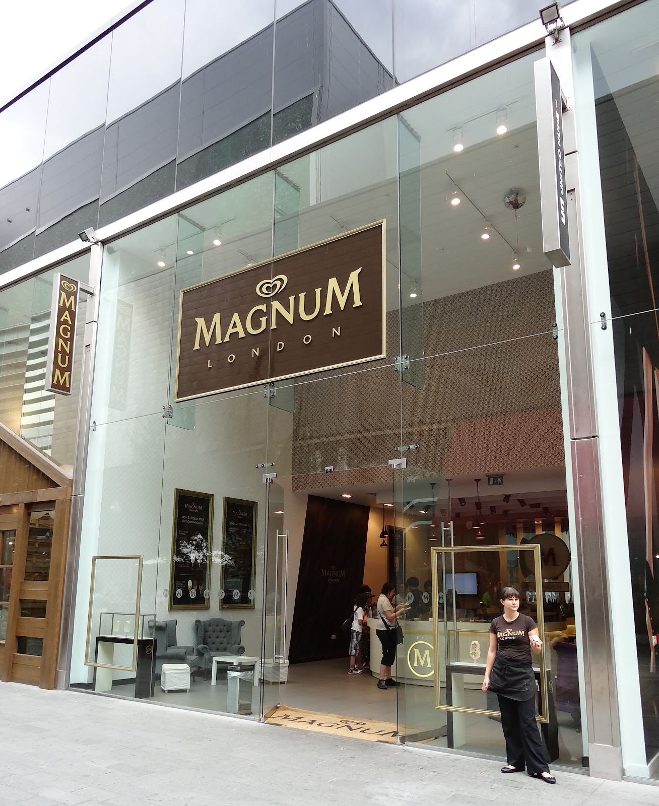 Our very own magnum ice cream bars for Magnum pop up shop