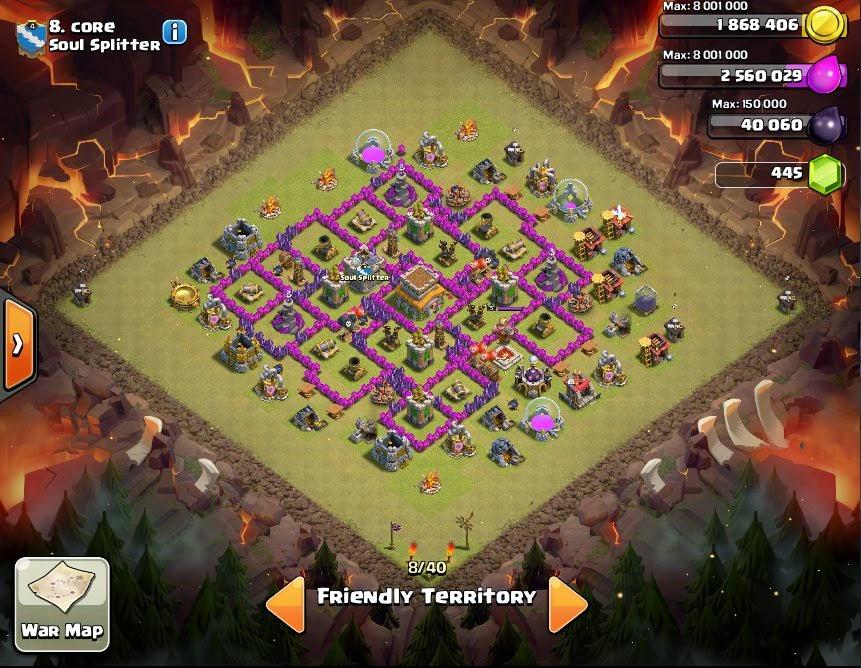 Core - COC Clans War Base
