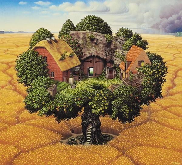 La claire fontaine r ver d 39 une maison dans les arbres - Rever d une grande maison ...