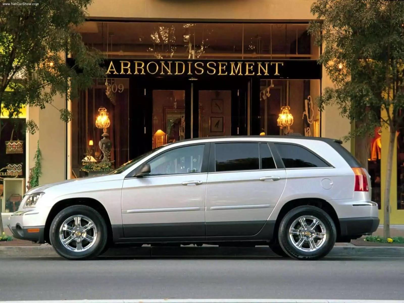 Hình ảnh xe ô tô Chrysler Pacifica 2004 & nội ngoại thất