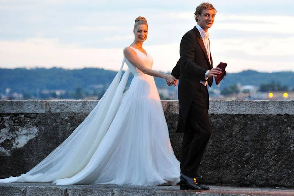 Religious Wedding reception of Pierre Casiraghi and Beatrice ...