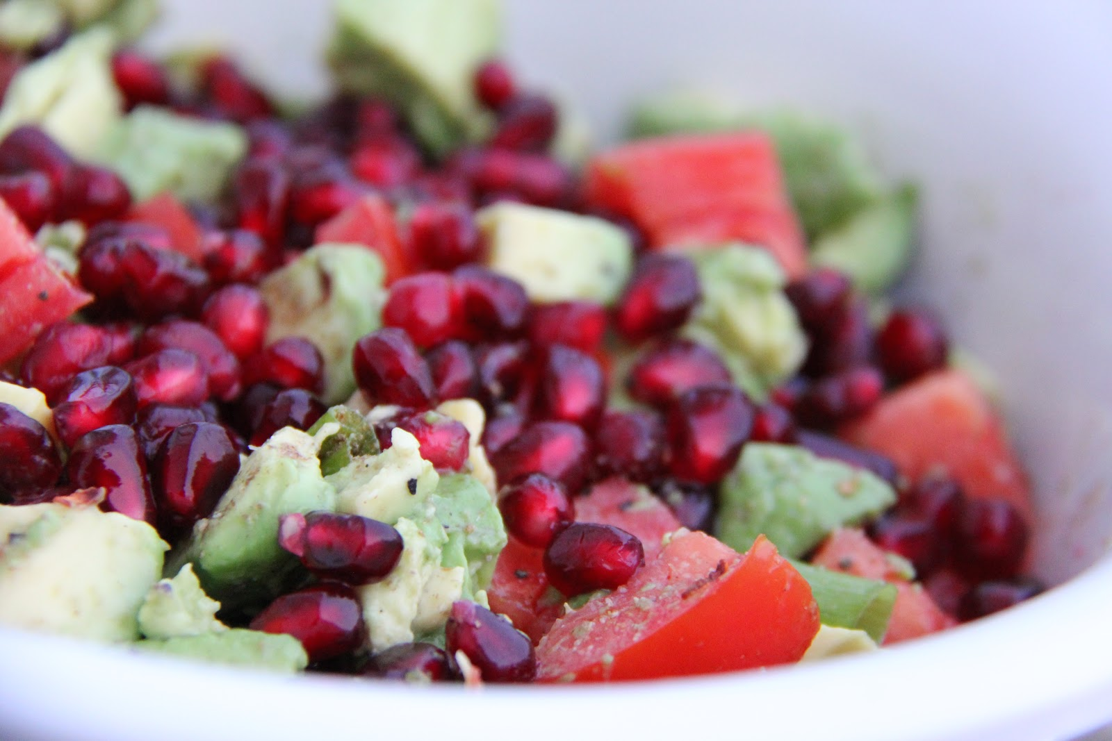 we love this salsa made with pomegranates and avocados it not only has ...