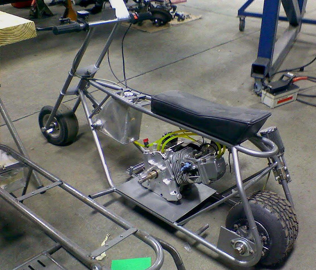 Gymi's Garage: More Mini Bike Madness