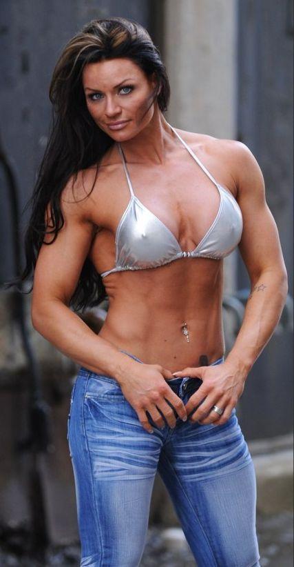 models female fitness nude Ifbb figure