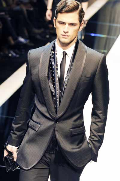 Celebrity Fashion: Men's suits: modern suit styles for 2011